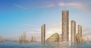 «Вертикальный город» будущего представлен Luca Curci Architects