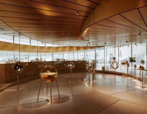 BIG закончили проект спиралевидного музея в горах