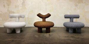 Три новых кресла в коллекции «Who Are You» Ольги Энгель