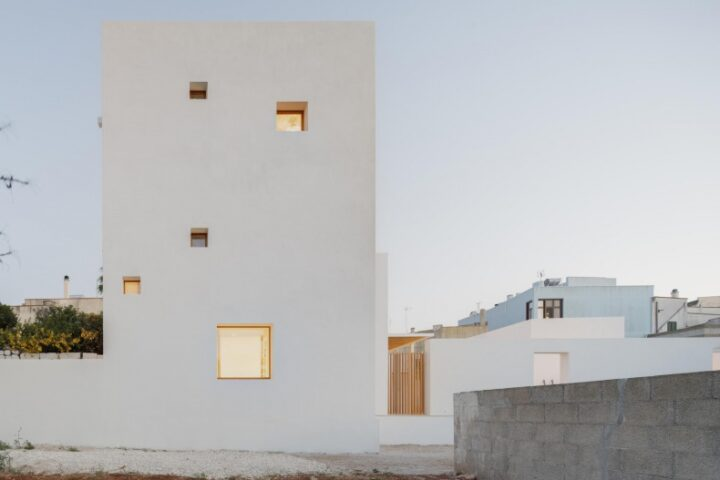 Современный взгляд на архитектуру юга Италии от DOS Architects Lorenzo Grifantini