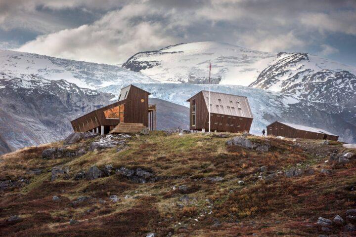 Против ветра: уникальные домики на краю света от Snøhetta
