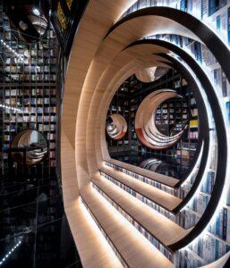 Сюрреалистичный книжный магазин от X+Living в Пекине