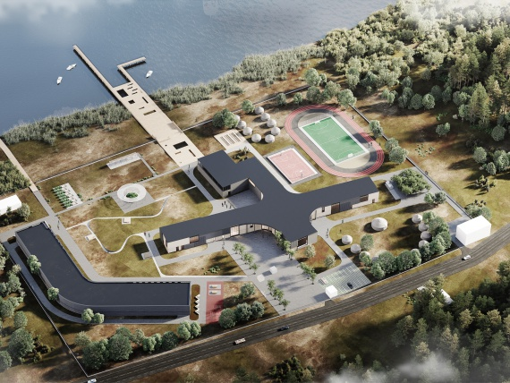 В Казахстане построят инновационную школу по проекту IND architects