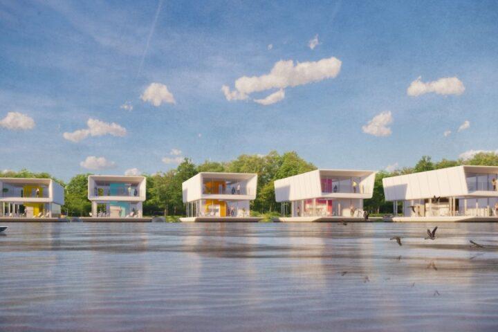 Grimshaw и Concrete Valley строят дом на воде