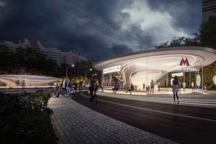 Zaha Hadid Architects спроектируют станцию метро в Москве