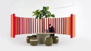 Андреа Руджеро создал акустические панели из переработанного текстиля для Offect