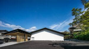 Kengo Kuma & Associates построили музей истории и культуры в Такете, Япония