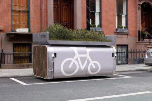 Инновационная парковка для велосипедов