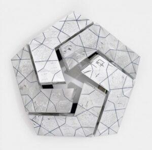 Невероятные зеркальные скульптуры Монира Шахруди Фарманфармаяна
