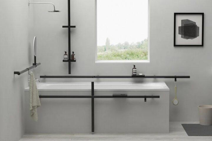 Стильные аксессуары для ванных комнат для людей с артритом