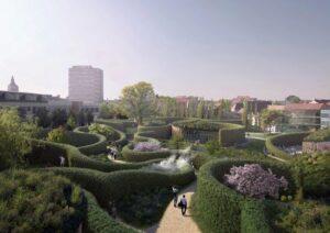 В Дании откроется музей Ханса Кристиана Андерсена по проекту Кэнго Кума