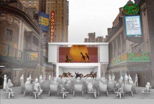 Безопасный театр под открытым небом в Нью-Йорке от Marvel