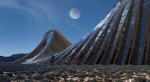 «Солнечная гора» от Nudes для фестиваля Burning Man