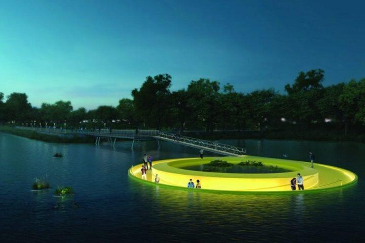 Floatlab позволит прогуляться по реке Скулкилл в Филадельфии