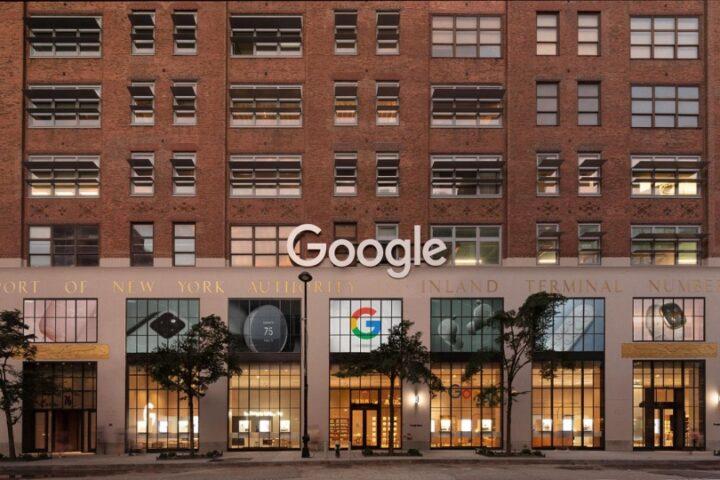 Google открыл магазин в Нью-Йорке