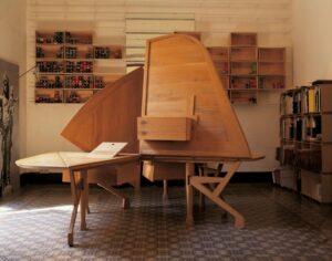 Выставка Miralles. Perpetuum Mobile в Барселоне