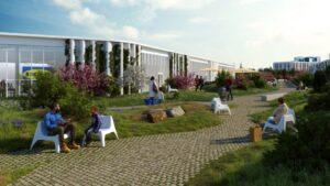 Dorte Mandrup спроектировал магазин ИКЕА в Копенгагене с парком на крыше