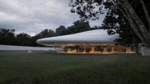 MAD спроектировали здание, похожее на облако
