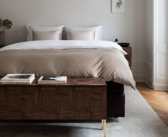 Hästens выпустили мебель для спальни