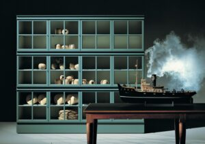 Molteni&C. представили новый вариант легендарного шкафа Piroscafo